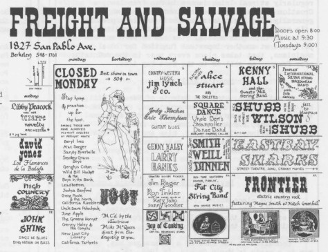 Freight and Salvage 1970xx00