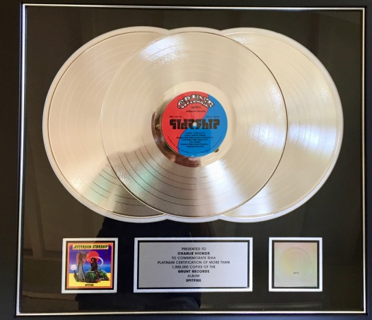 platinum record - 1