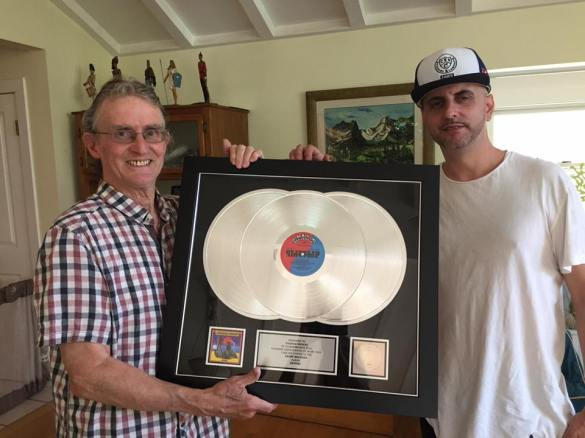 cosmo and charlie - platinum record