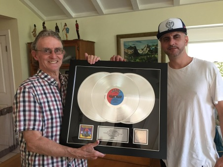 cosmo and pops platinum record - 1